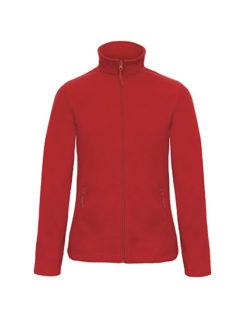 Microfleece Duo Jacket Women B&C - red