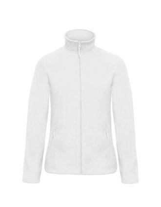 Microfleece Duo Jacket Women B&C - white