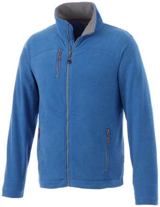 Pitch Mikro Fleece Jacke Slazenger - himmelblau