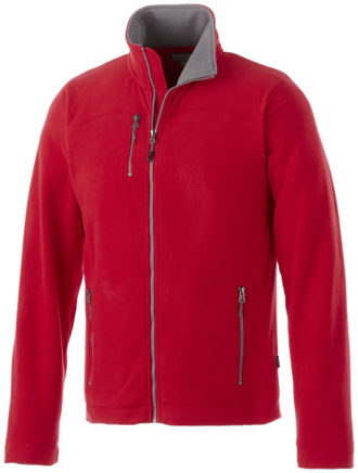 Pitch Mikro Fleece Jacke Slazenger - rot