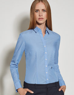 Seidensticker Bluse Womens Blouse Slim Fit Longsleeve