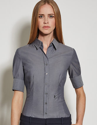 Seidensticker Bluse Womens Blouse Slim Fit Shortsleeve