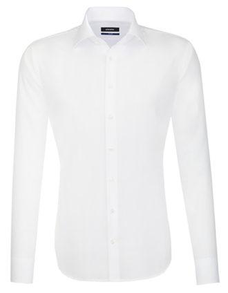 Seidensticker Hemd Mens Shirt Tailored Fit Longsleeve - white