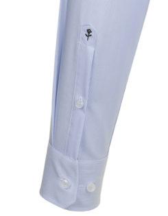 Seidensticker Mens Shirt Tailored Fit Check-Stripes Longsleeve - Streifenmuster und Rose