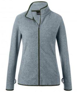 Ladies 3-In-1-Jacket James & Nicholson - olive black Innenjacke