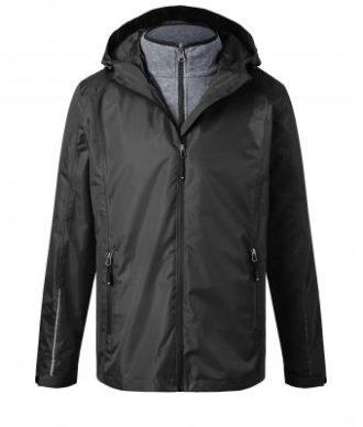 Mens 3-In-1-Jacket James & Nicholson - black black