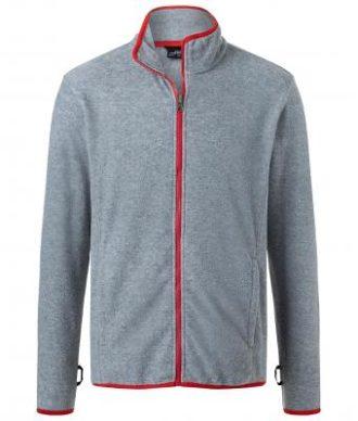 Mens 3-In-1-Jacket James & Nicholson - red black Innenjacke
