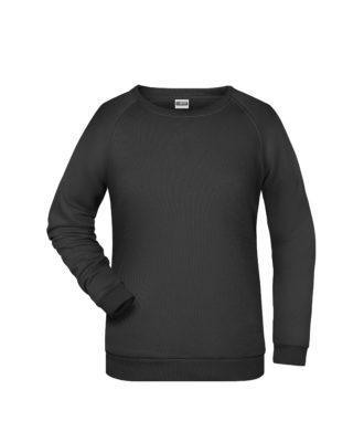 Basic Sweat James & Nicholson jn793 - black