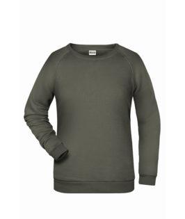 Basic Sweat James & Nicholson jn793 - dark grey