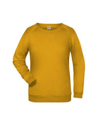 Basic Sweat James & Nicholson jn793 - gold yellow
