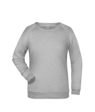 Basic Sweat James & Nicholson jn793 - grey heather