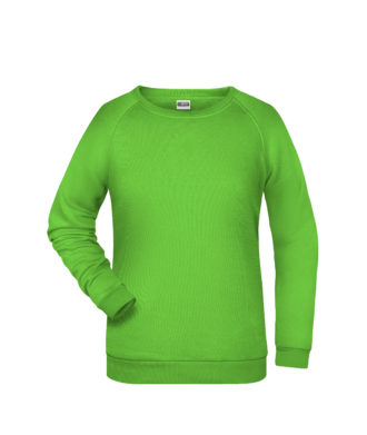 Basic Sweat James & Nicholson jn793 - lime green