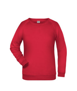 Basic Sweat James & Nicholson jn793 - red