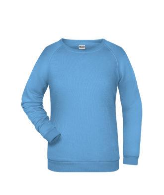 Basic Sweat James & Nicholson jn793 - sky blue