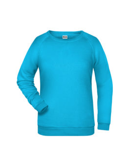 Basic Sweat James & Nicholson jn793 - turquoise