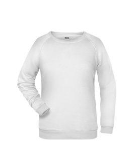 Basic Sweat James & Nicholson jn793 - white