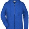 Ladies' Bio Zip Hoody James & Nicholson - ink melange