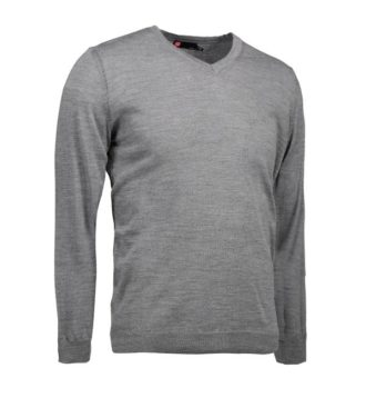 Identity Business Pullover - grau meliert