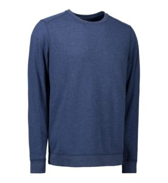 Identity Core O-Neck Sweat - blau meliert