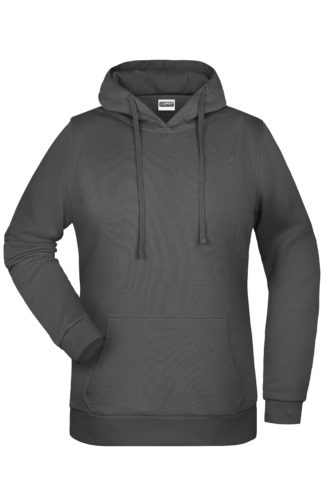 Basic Hoody Lady James & Nicholson - graphite