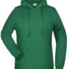 Basic Hoody Lady James & Nicholson - irish green