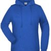 Basic Hoody Lady James & Nicholson - royal