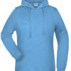 Basic Hoody Lady James & Nicholson - skyblue