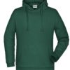 Basic Hoody Man James & Nicholson - dark green