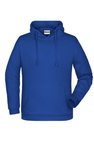 Basic Hoody Man James & Nicholson - dark royal