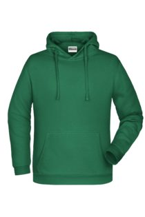 Basic Hoody Man James & Nicholson - irish green