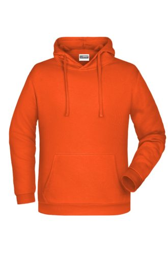 Basic Hoody Man James & Nicholson - orange