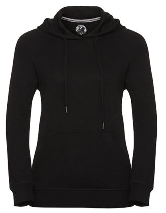 Ladies' HD Hooded Sweat Russell - black