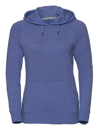 Ladies' HD Hooded Sweat Russell - blue