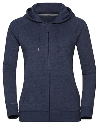 Ladies' HD Zipped Hood Sweat Russell - bright navy