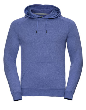 Men's HD Hooded Sweat Russell - blue
