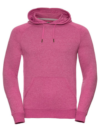 Men's HD Hooded Sweat Russell - pink