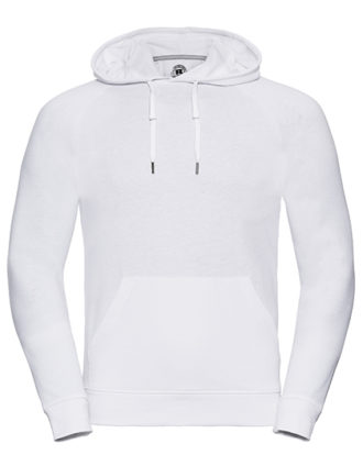 Men's HD Hooded Sweat Russell - white