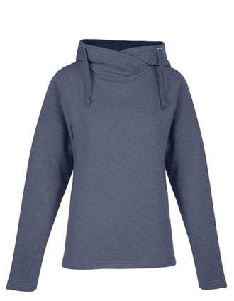 Women's Heather Hoody Promodoro - heather blue