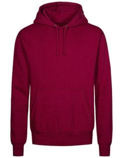 XO Hoody Sweater Men Promodoro - berry