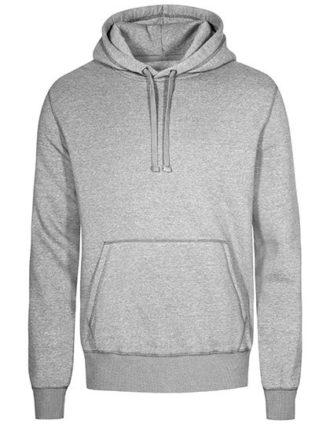 XO Hoody Sweater Men Promodoro - heather grey