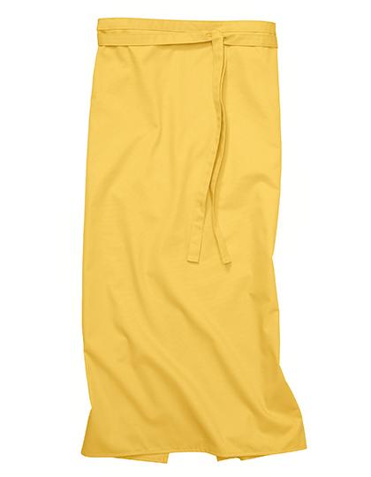 Bistroschürze Roma 100 x 100 cm CG Workwear - curry