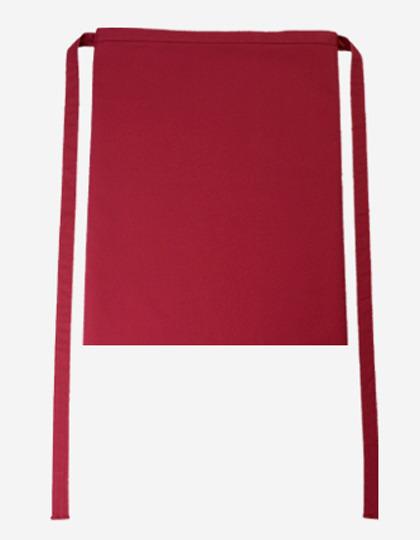 Bistroschürze Roma 50 x 78 cm CG Workwear - cherry