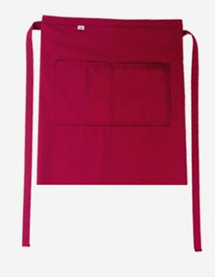 Bistroschürze Roma Bag 50 x 78 cm CG Workwear - cherry