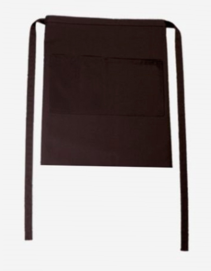 Bistroschürze Roma Bag 50 x 78 cm CG Workwear - chocolate