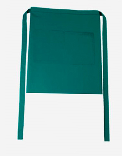 Bistroschürze Roma Bag 50 x 78 cm CG Workwear - evergreen