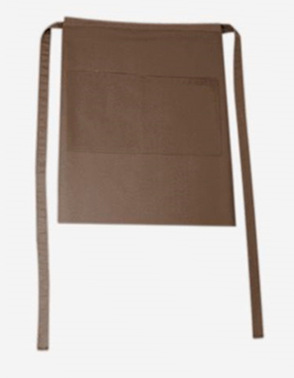 Bistroschürze Roma Bag 50 x 78 cm CG Workwear - taupe