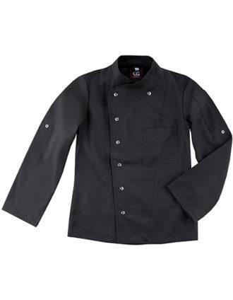 Chef's Jacket Turin Lady Classic CG Workwear - black
