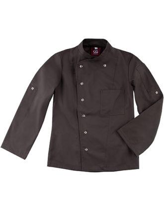 Chef's Jacket Turin Lady Classic CG Workwear - chocolate brown