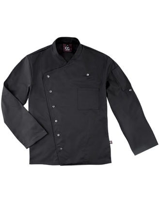 Chef's Jacket Turin Man Classic CG Workwear - black