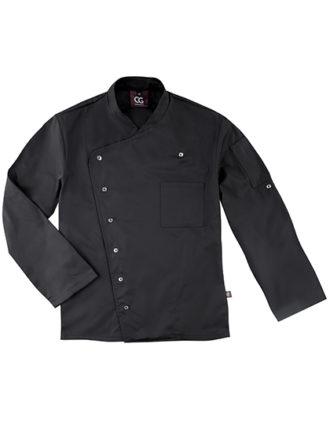 Chef's Jacket Turin Man Classic CG Workwear - black